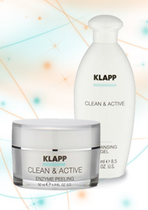 Clean & active - Klapp